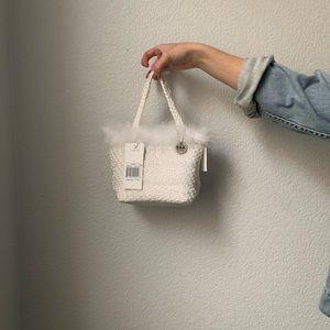 The Sak Bags - White Crochet Bag